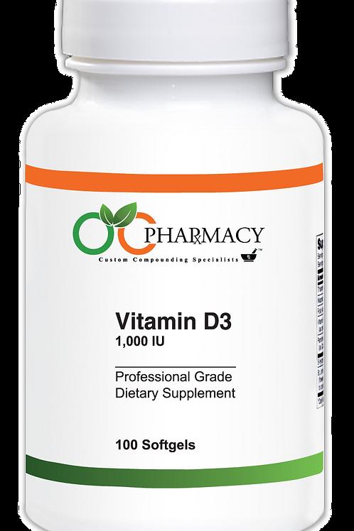 OCP Vitamin D3 1000 IU, 100 ct