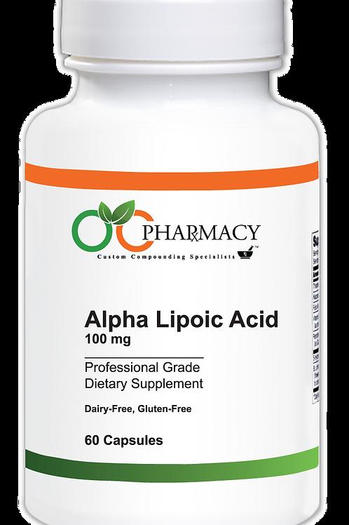 OCP Alpha Lipoic Acid 100 mg, 60 ct