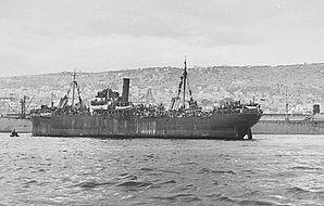 """אונית המעפילים """"כנסת ישראל"""" 1946"""
