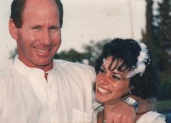 אלישע וענבל ביום חתונם