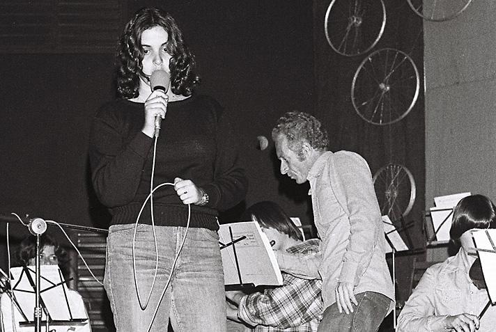 הכנות וחזרות לגלבוזמר 1979