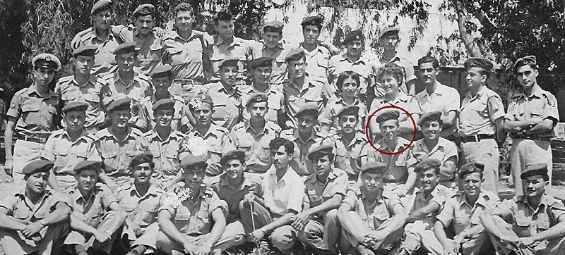 דוד עורי מדור מורס 1958, מחלקה 58