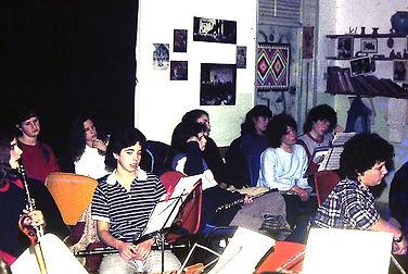 חדר המוסיקה - מוסד החינוכי גלבוע