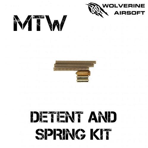 MTW Detent and Spring Kit