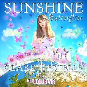 clare estelle - sunshine butterflies (ap