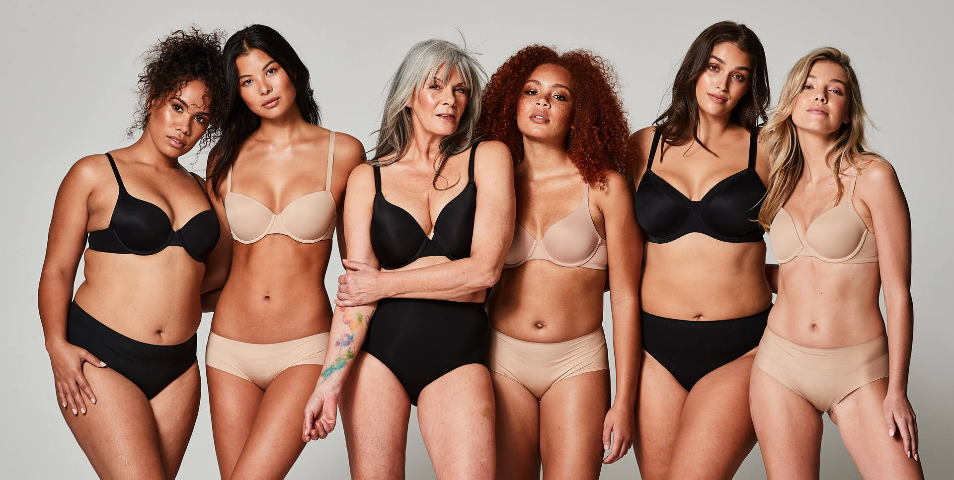 target everyday bra campaign image: hannah spence