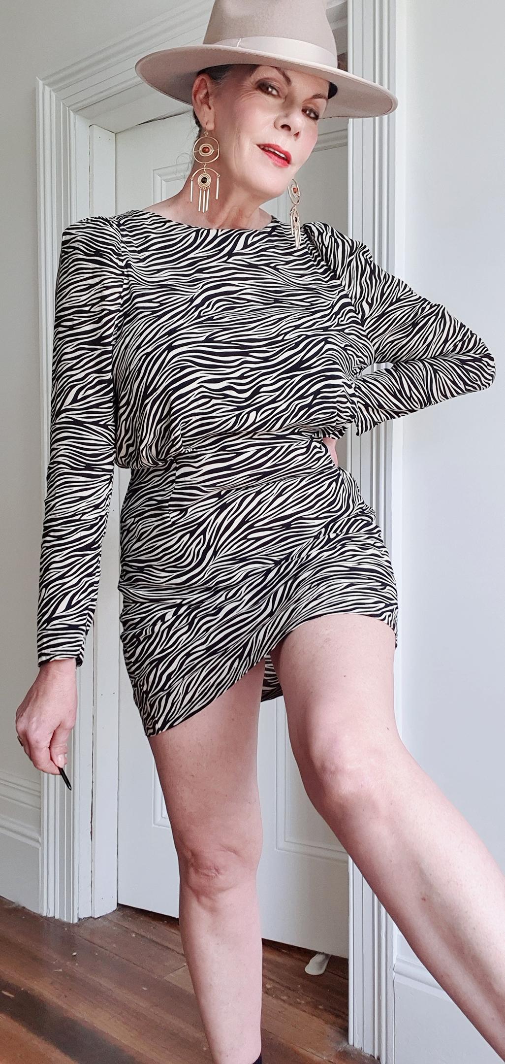 H & M Leopard dress