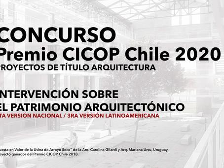 GANADORES PREMIO CICOP CHILE 2020