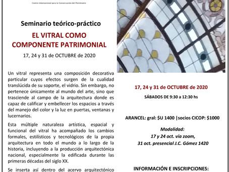 SEMINARIO: EL VITRAL COMO EXPONENTE PATRIMONIAL- CICOP URUGUAY
