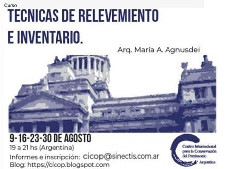 TÉCNICAS DE RELEVAMIENTO E INVENTARIO. CICOP ARGENTINA.