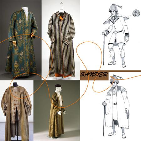 Opera Zemire Costume design