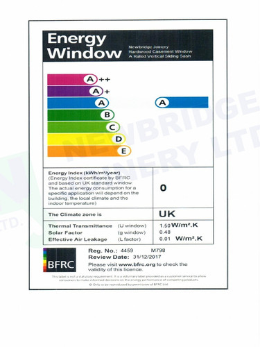 Sliding Sash A Rated Certification-page-