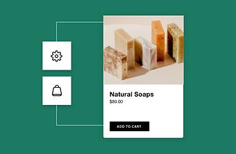 Soap website selling natural soaps