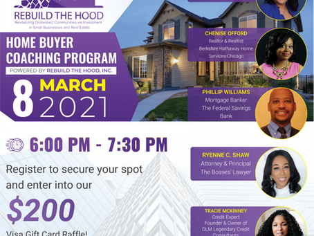 Home Buyer Coaching Program is BACK!