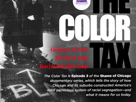 """Screening of """"The Color Tax: Origins of the Modern Day Racial Wealth Gap"""""""