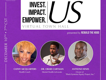 Invest. Impact. Empower. US: Virtual Town Hall Event