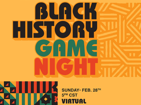 Black History Game Night w/ TipOff!