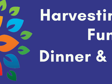 Save the Date for our fall Harvesting Hope Fundraiser