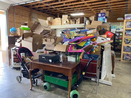 FYI's Garage Sale is May 6 & 7
