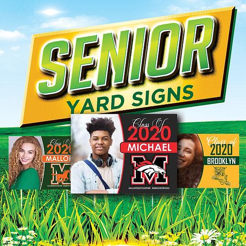 Senior Grad Signs