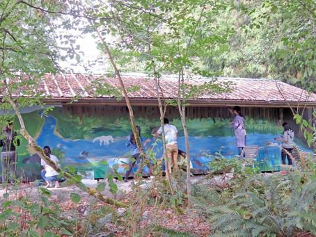 Semiahmoo Secondary Mural Project