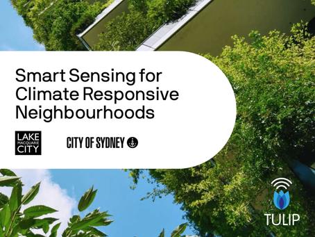 Smart Sensing for Climate Responsive Neighbourhoods - A new guide for Councils