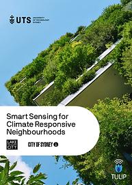 Smart sensing for climate responsive nei