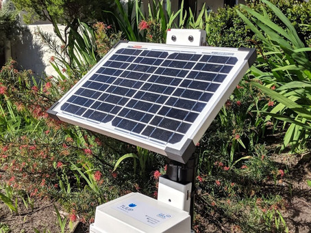 TULIP EMS (Environmental Monitoring System) prototype arrives!