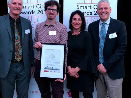TULIP is 'Highly Commended' at the Committee for Sydney's Smart City Awards 2018