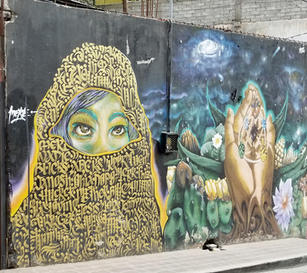 Fig. 14-4. Burka Mural