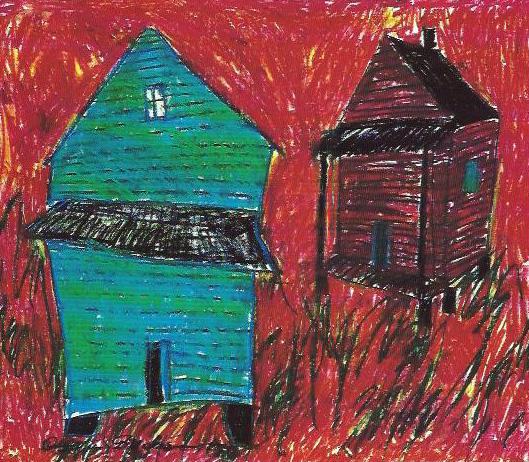 "Fig. 26-3. Beverly Buchanan: ""Santee-Cooper House"""