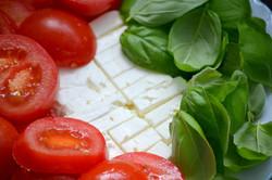 Tomato, Basil and Mozzarella