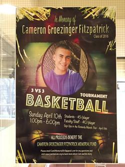 Cameron Basketball Fundraiser 2016