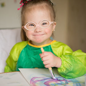 Focus on abilities, a young artist with Down Syndrome shines