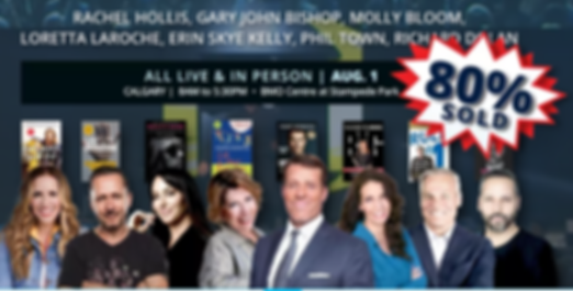 Power of Success with Tony Robbins and Friends Calgary 2019
