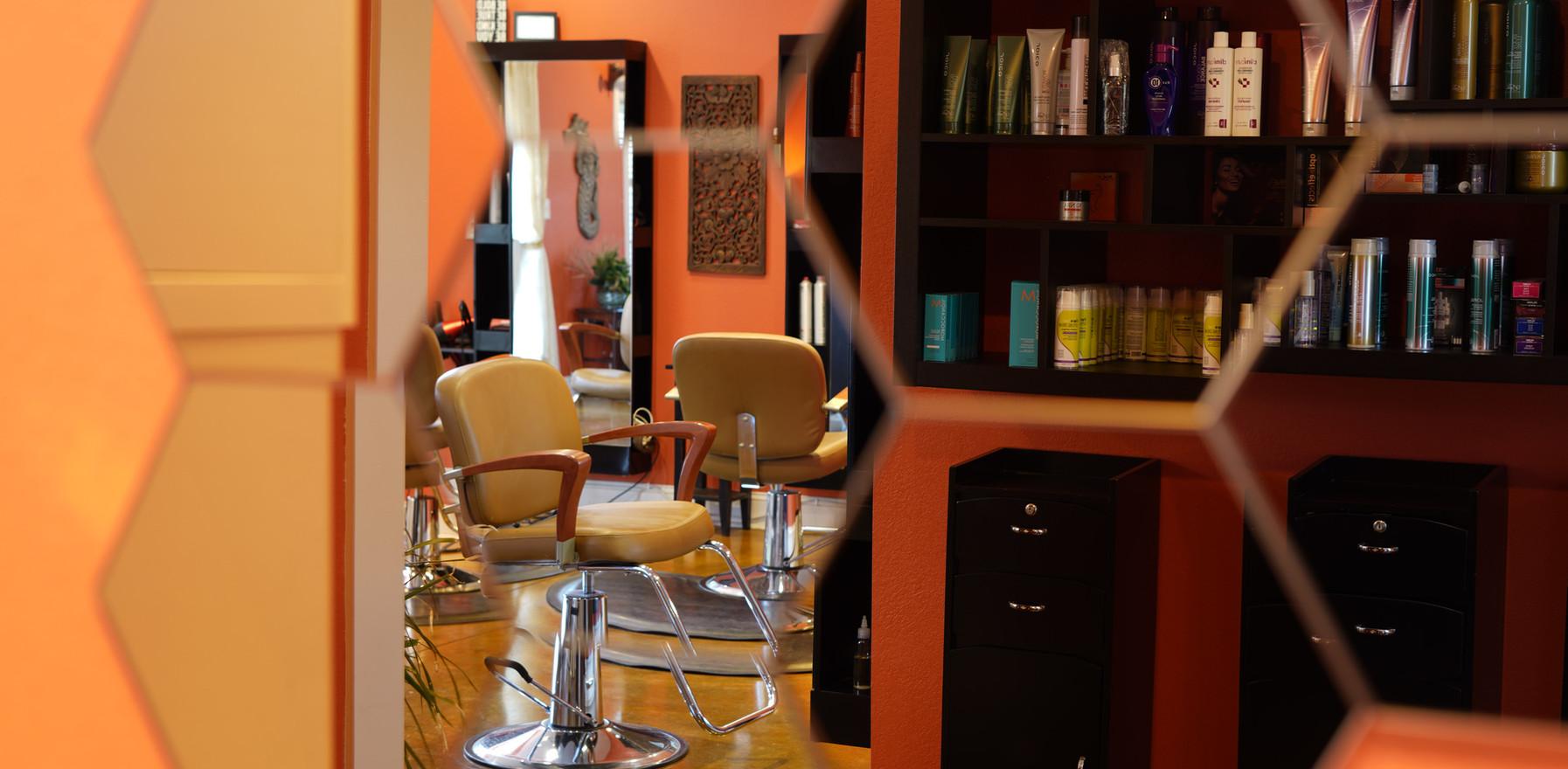 Its a modern salon & spa!