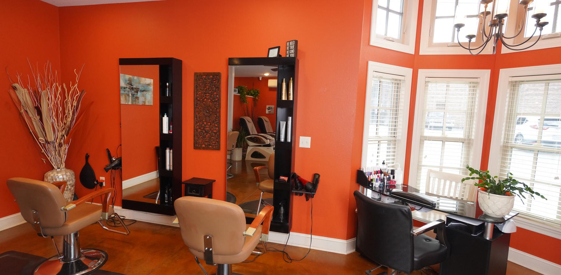 Hair & Nail Stations