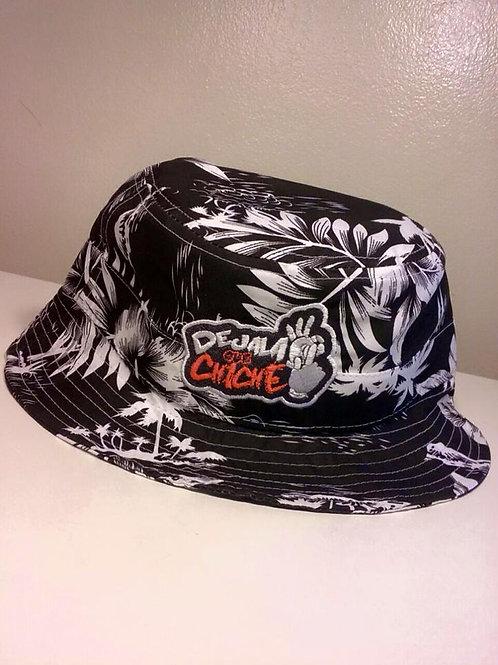 Dejala Que Chiche Bucket Hat (Negra/Blanca/Playa)