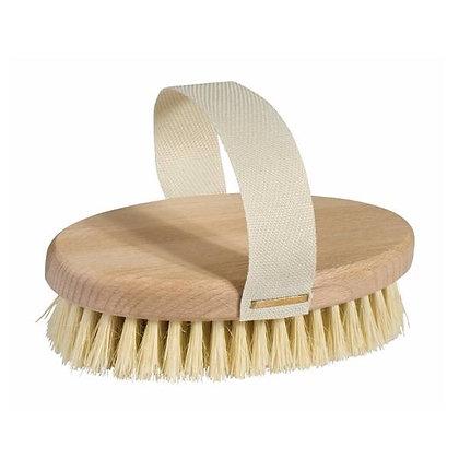 brosse massage corps en fibre naturelle