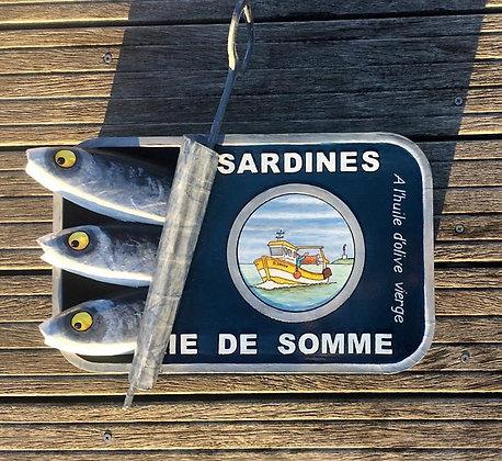 Les sardines sortent de leur boîte !