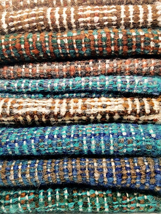 écharpes uniques laine et mohair