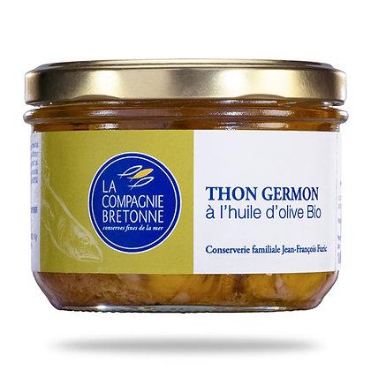 Thon Germon à l'huile d'olive bio