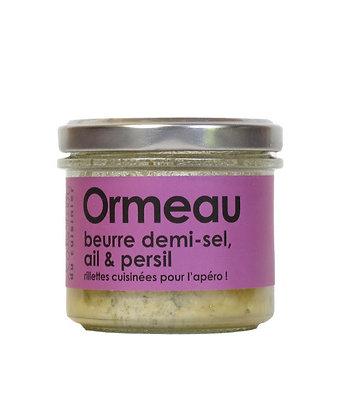 Ormeau au beurre demi-sel, ail et persil