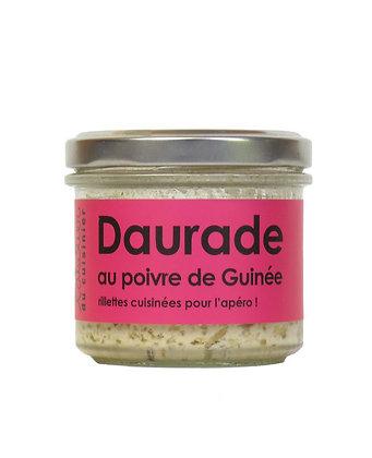 Daurade grise au poivre de Guinée