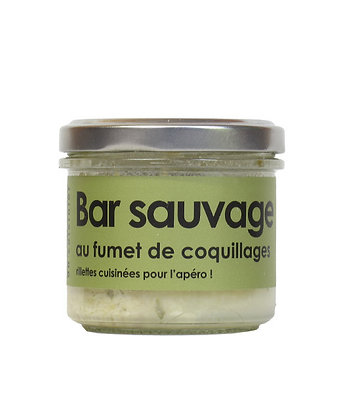 Bar sauvage au fumet de coquillages