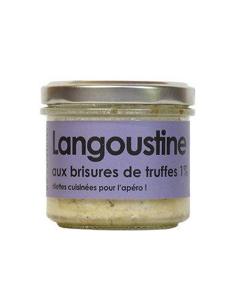 Langoustine aux brisures de truffes