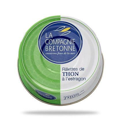 Rillettes de thon à l'estragon