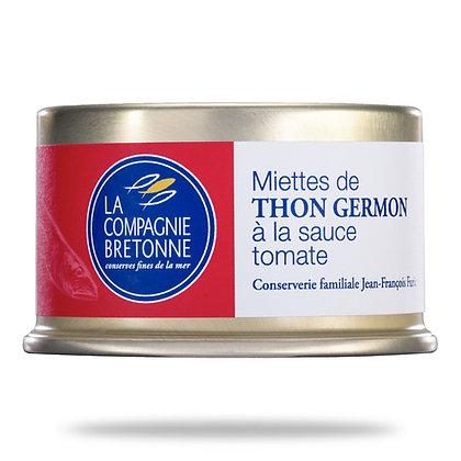 Miettes de thon Germon à la tomate
