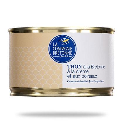 Thon cuisiné à la bretonne