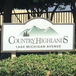 Country Highlands Entrance